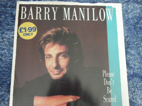Manilow, Barry Please Don't Be Scared Vinyl