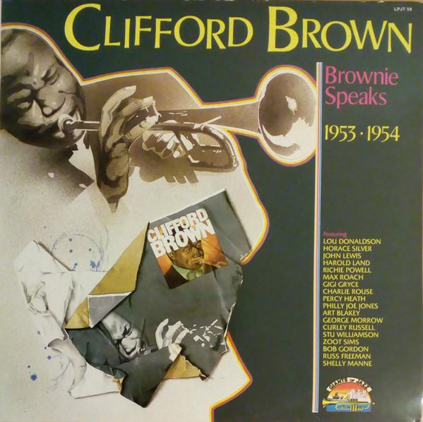 Clifford Brown Brownie Speaks 1953 • 1954 Vinyl
