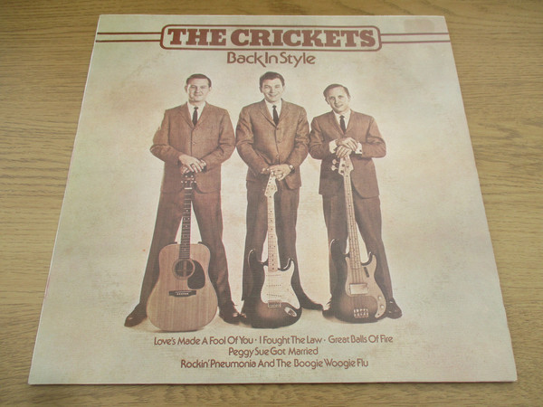 The Crickets Back In Style Vinyl