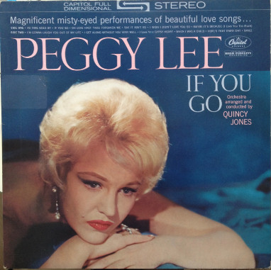 Lee, Peggy If You Go