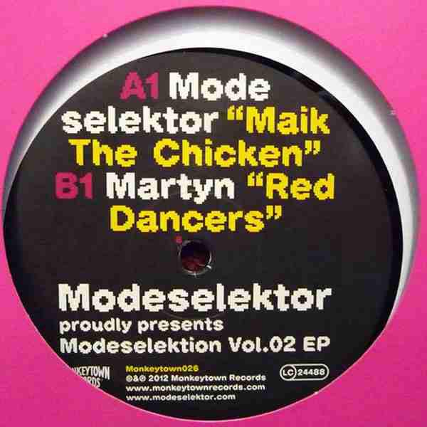 Modeselektor / Martyn Modeselektion Vol.02 EP
