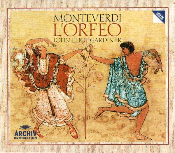 Monteverdi - John Eliot Gardiner L'Orfeo Vinyl