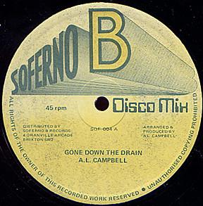 Al Campbell Gone Down The Drain Vinyl