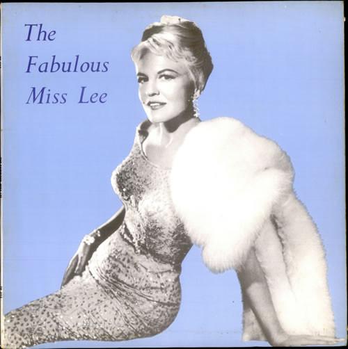 Lee, Peggy The Fabulous Miss Lee Vinyl