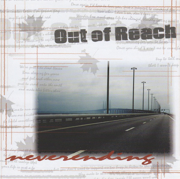 Out Of Reach Neverending CD
