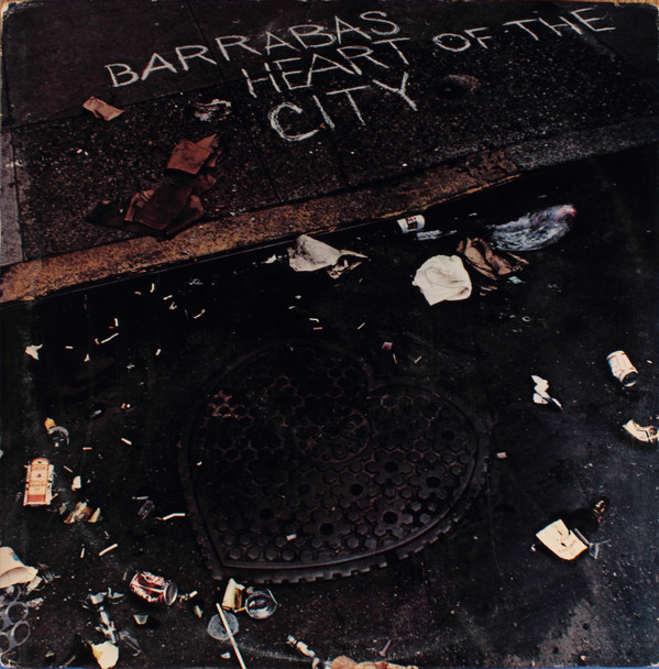Barrabas Heart Of The City Vinyl