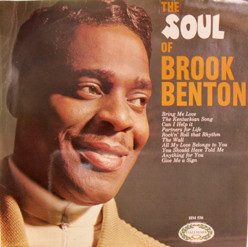 Benton, Brook The Soul Of Brook Benton Vinyl