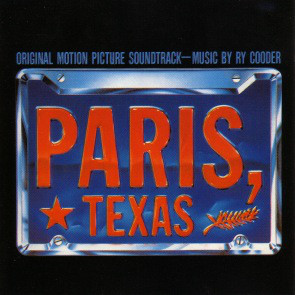 Ry Cooder Paris, Texas - Original Motion Picture Soundtrack CD