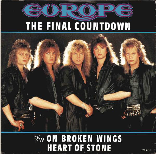 Europe The Final Countdown Vinyl