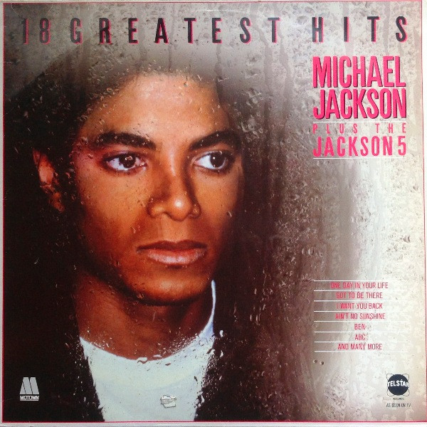 Jackson, Michael 18 Greatest Hits Vinyl
