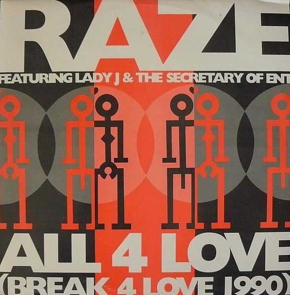Raze All For Love Vinyl
