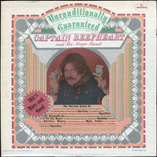 Captain Beefheart And The Magic Band Unconditionally Guaranteed
