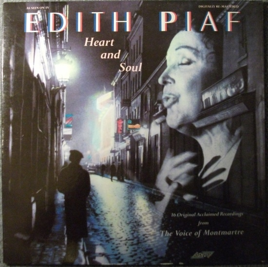 Piaf, Edith Heart And Soul