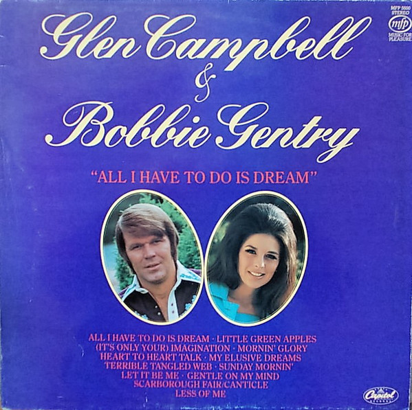 Gentry Bobby & Glen Campbell All I Have To Do Is Dream