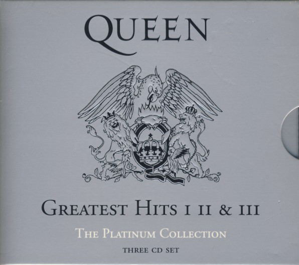 Queen The Platinum Collection - Greatest Hits I, II & III