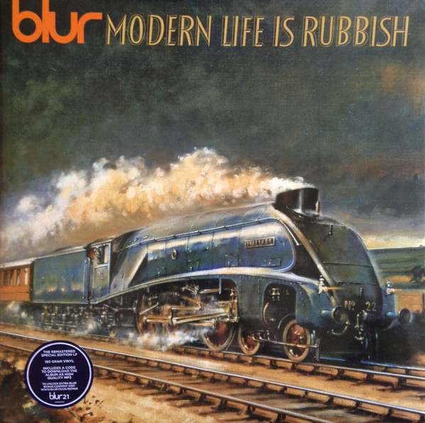 Blur Modern Life Is Rubbish Vinyl