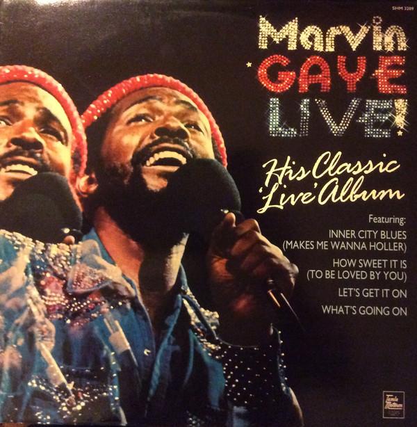 Marvin Gaye Marvin Gaye Live Vinyl