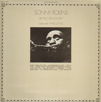 Rollins, Sonny First Recordings - 1957 Vinyl