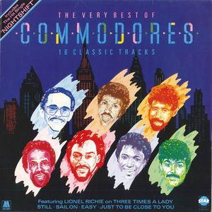 Commodores The Very Best Of Commodores