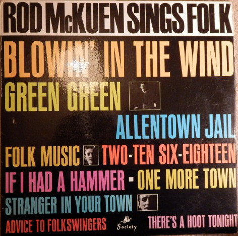 McKuen, Rod Rod McKuen Sings Folk