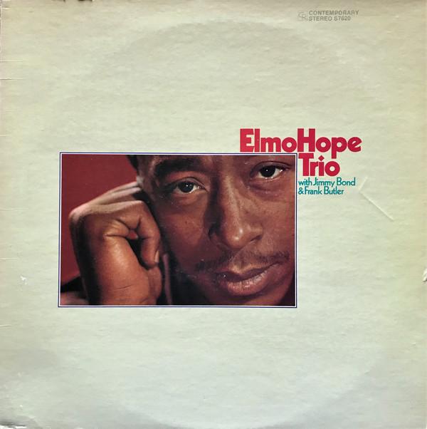 Elmo Hope Trio With Jimmy Bond & Frank Butler Vinyl