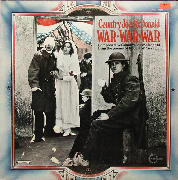 McDonald, Country Joe War War War