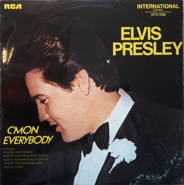 Presley, Elvis C'mon Everybody Vinyl