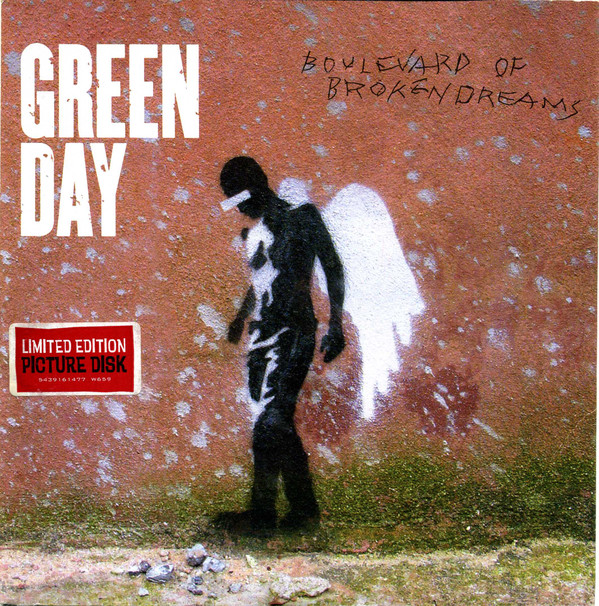 Green Day Boulevard Of Broken Dreams Vinyl