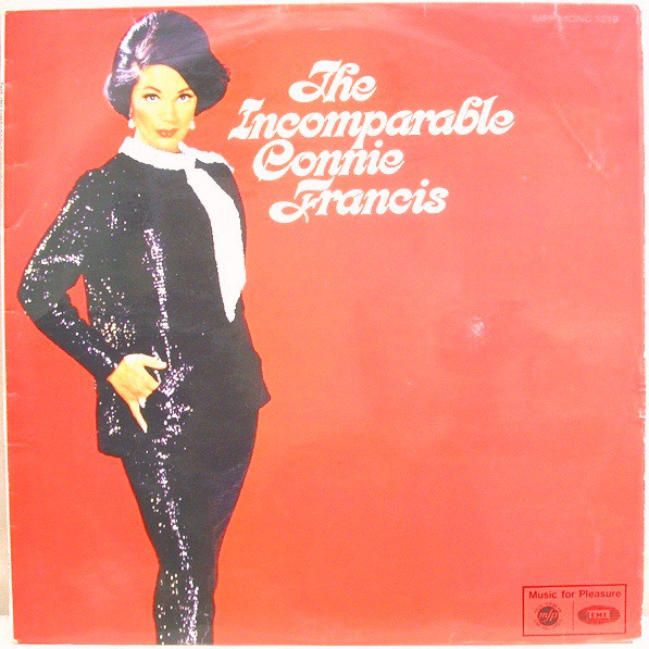 Francis, Connie The Incomparable Connie Francis  Vinyl