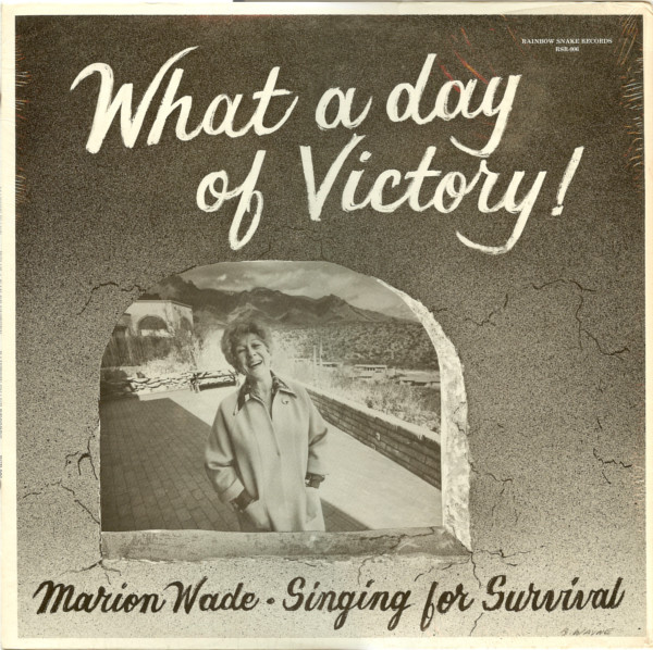 Wade, Marion What A Day Of Victory! Vinyl