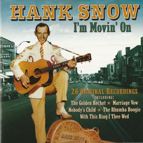 Snow, Hank I'm Movin On Vinyl