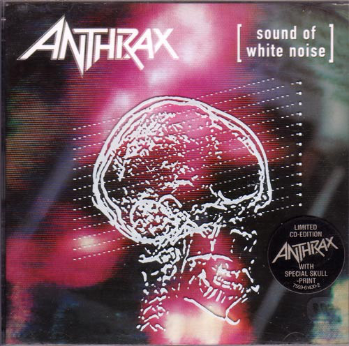 Anthrax Sound Of White Noise CD