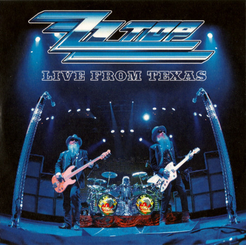 ZZ Top Live From Texas CD
