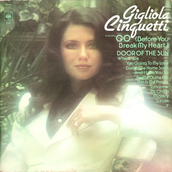 Gigliola Cinguetti Go (Before You Break My Heart)