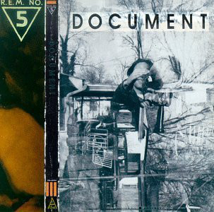 R.E.M. Document CD