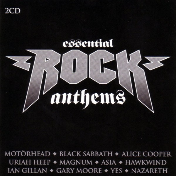 Various Artists Essential Rock Anthems