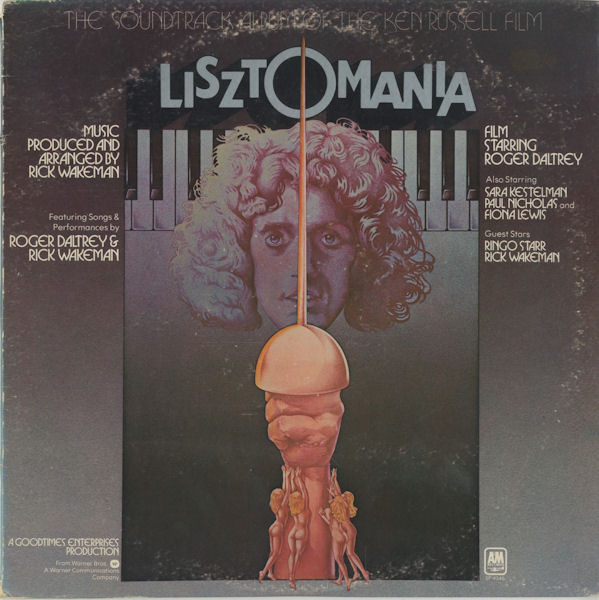 The Soundtrack Lisztomania  Vinyl