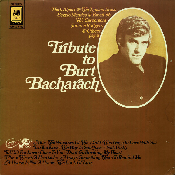 Various Tribute To Burt Bacharach Vinyl