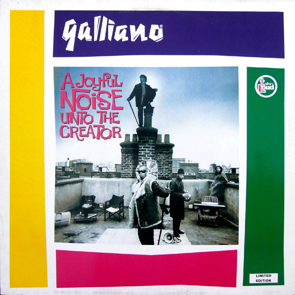 Galliano A Joyful Noise Unto The Creator Vinyl