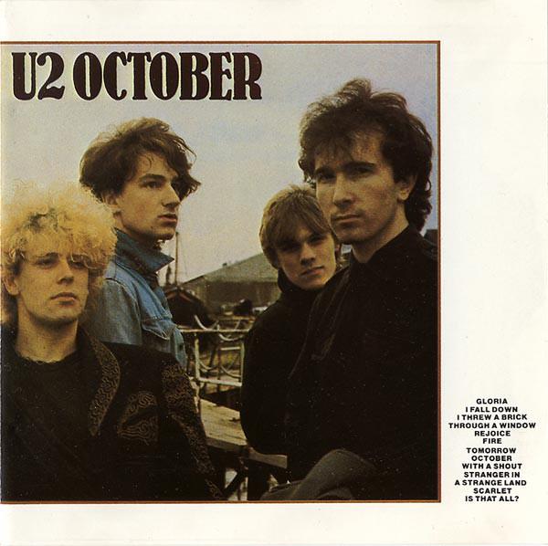 U2 October Vinyl