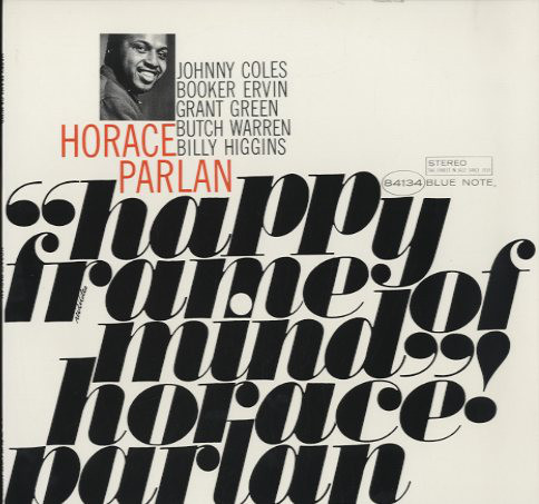 Horace Parlan Happy Frame Of Mind Vinyl