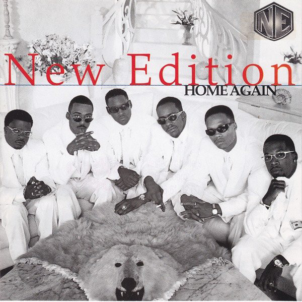 New Edition Home Again CD