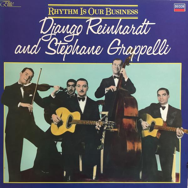 Django Reinhardt And Stephane Grappelli*  Rhythm Is Our Business Vinyl
