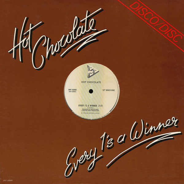 Hot Chocolate Every 1's A Winner / Put Your Love In Me Vinyl