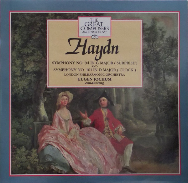 Haydn - Eugen Jochum Symphony No. 94 in G major ('Surprise'), Symphony No. 101 in D major ('Clock') Vinyl
