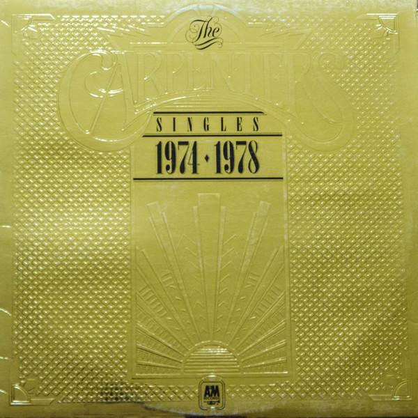 Carpenters Singles 1974-1978 Vinyl