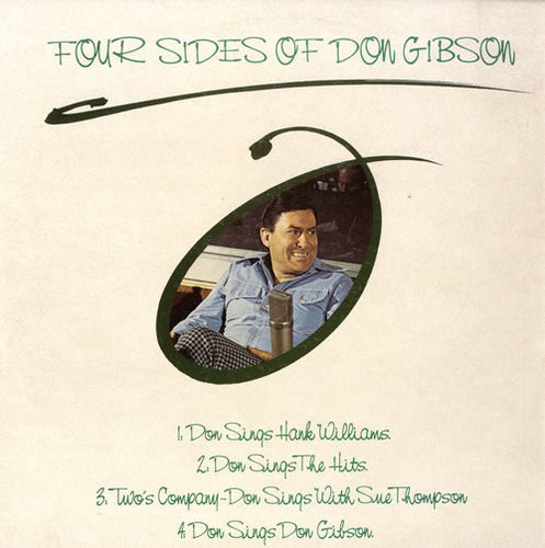 Gibson, Don Four Sides Of Don Gibson Vinyl