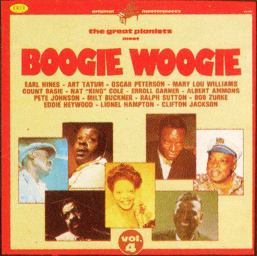 Various The Great Pianists Meet Boogie Woogie (Vol. 4)