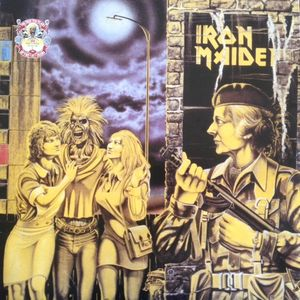 Iron Maiden Women In Uniform / Twilight Zone Vinyl