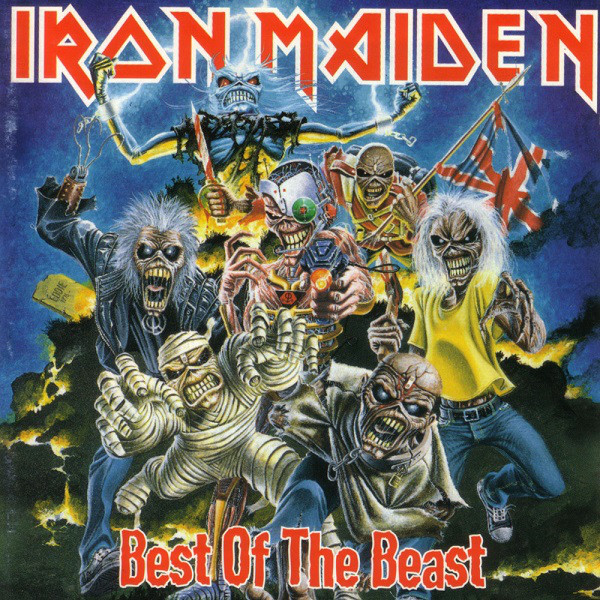 Iron Maiden Best Of The Beast Best Of The Beast